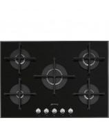 Płyta gazowa Smeg PV175N2 Czarne szkło