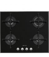 Płyta gazowa Smeg PV164N2 Czarne szkło