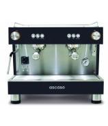 Ekspres do kawy ASCASO BAR 2GR Black z podłączeniem do wody bieżącej