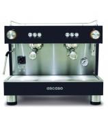Ekspres do kawy ASCASO BAR 2GR Black z własnym zbiornikiem na wodę
