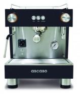 Ekspres do kawy ASCASO BAR 1GR Black & Wood z własnym zbiornikiem na wodę