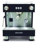 Ekspres do kawy ASCASO BAR 1GR Black & Wood z podłączeniem do wody bieżącej